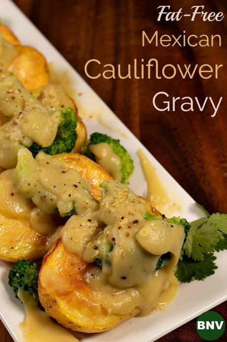 Mexican Cauliflower Gravy