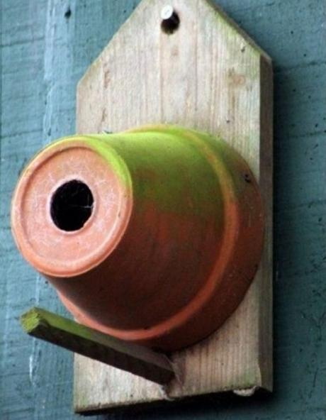 Ten Amazing Bird Houses All Made From Upcycling and Recycling