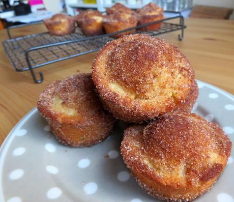 Cinnamon Doughnut Puffs