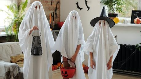 Image: Children in Ghost Costumes, by Daisy Anderson on Pexels