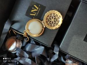 ANA Classica Solid Perfume Open Locket