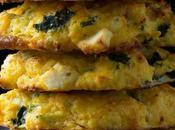 Butternut Squash Scones with Spinach Feta