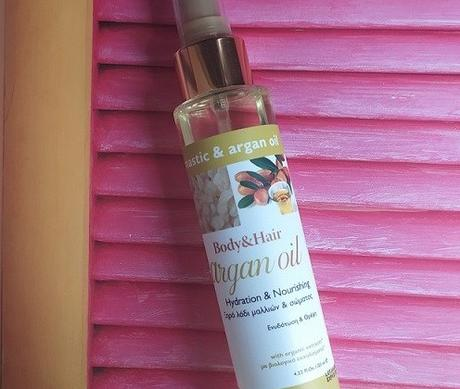 Mastic Spa Body And Hair Argan Oil Review