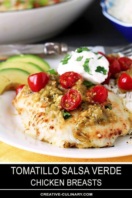 Tomatillo Salsa Verde Chicken Breasts