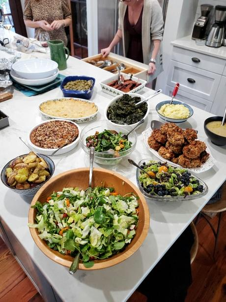 festive colorful thanksgiving side dishes