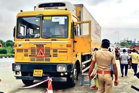 15 crore mobile sets heist .. .. cargo lost in transit - Prudence and Insurance !!