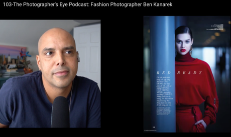 Being Interviewed by Omar Gonzales on Fashion and Fujifilm