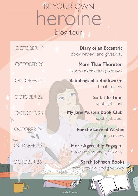 BE YOUR OWN HEROINE BLOG TOUR