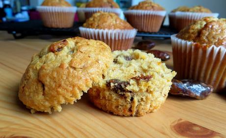 Orange, Date & Oat Muffins