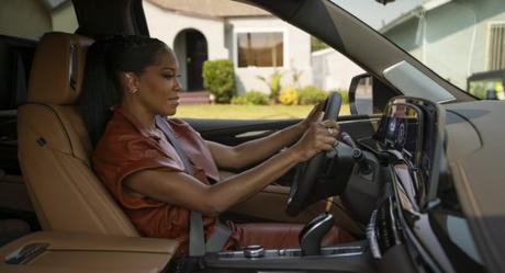 "Regina King Brand Ambassador for Cadillac's ""Never Stop Arriving"" Campaign"