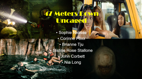 ABC Film Challenge – Horror – X – 47 Meters Down: Uncaged (2019) Movie Review