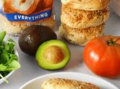 Avocado Breakfast Bagel Sandwich