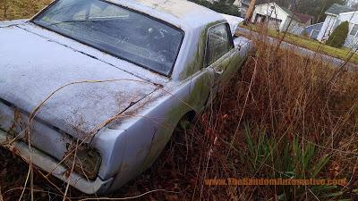 abandoned 1965 mustang rotting in style 200ci inline 6 rust new jersey
