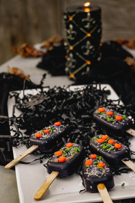 Haunted Mansion Cakesicles- Halloween Special