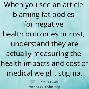 Five Types of Medical Weight Stigma