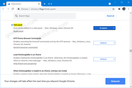 Google is testing 'Side Panel' for Chrome (Edge Collections Alternative)
