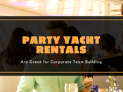 Party Yacht Rentals Great Corporate Team Building