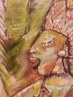 Art Journal Faces - Each one tells a Story
