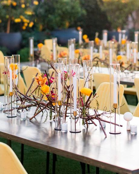 how to choose wedding colors table centerpiece candles
