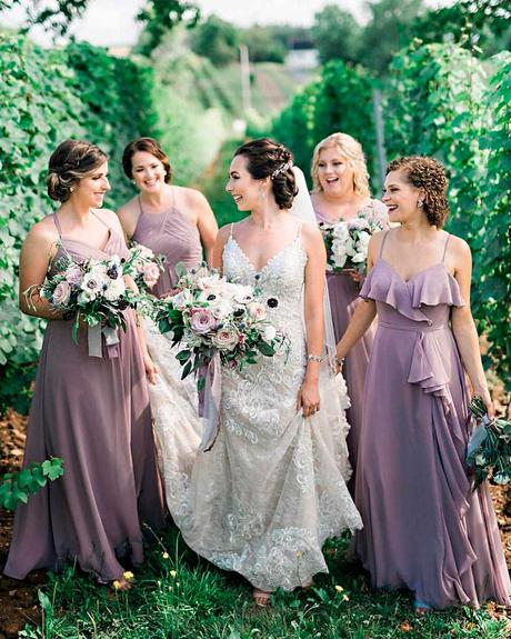 how to choose wedding colors summer lilac purple