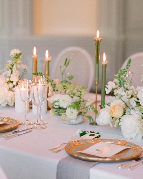 how to choose wedding colors summer green white gold