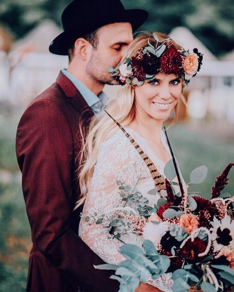 how to choose wedding colors fall trends