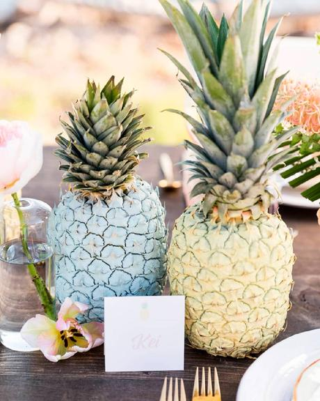 how to choose wedding colors summer tropical theme