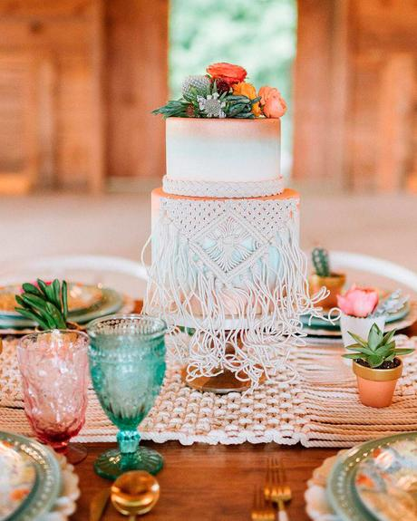 how to choose wedding colors spring coral green