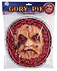 Image: Gory Pie Face Halloween Decoration Prop | Brand: Forum Novelties