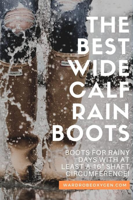 Wide Calf Snow Boots and Rain Boots