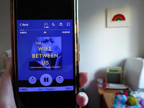 audio book reviews the wife between us