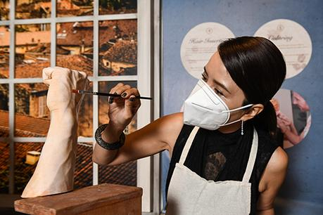 A New Look For Zoe Tay AT Madame Tussauds Singapore