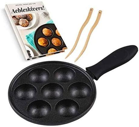 Best cast iron Aebleskiver pan: Upstreet