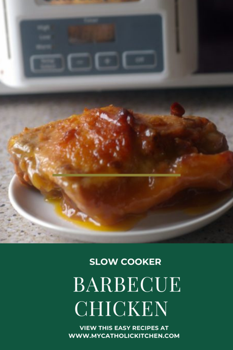 Slow Cooker Sunday: Barbecue Chicken