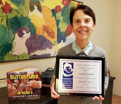 CLCSC Virtual Fall Gala and Award Ceremony: Nonfiction Award for Butterflies in Room 6