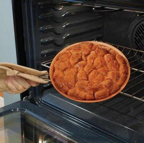 Can you put a copper pan in the oven