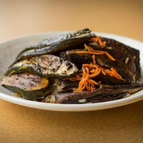 Vegetable teppanyaki recipe