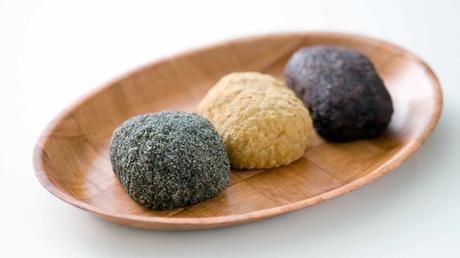 3 Japanese Rice Balls recipes | how to make Onigiri and Ohagi