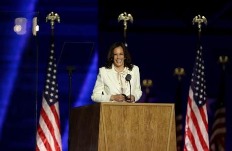 Kamala Harris White Pantsuit Paid Homage To The Women's Suffrage Movement