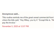 """""""Let's Mikey! Likes It!"""" Classic Commercial from 1970s Play Among Officials Drummond Superfund Scheme?"""
