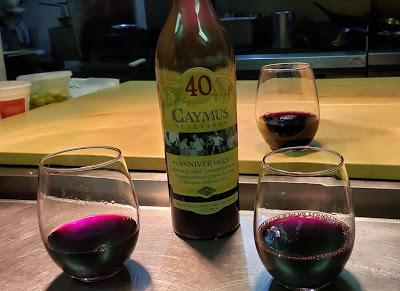 Kitchen Wine: Going out with a Bang!