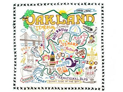 OAKLAND, CA, A Few Fun Facts and Places to Go, by Caroline Arnold at The Intrepid Tourist