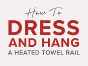 Dress Hang Heated Towel Rail