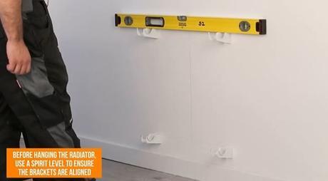spitil level measuring radiator brackets
