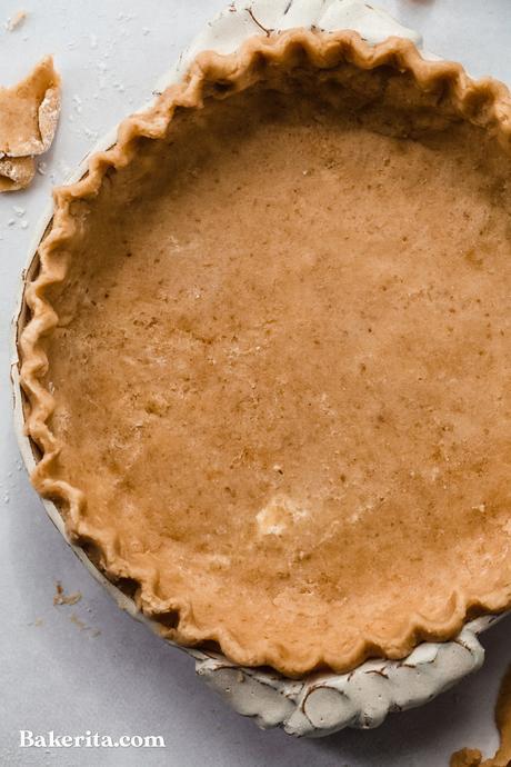 The Best Gluten-Free Vegan Pie Crust