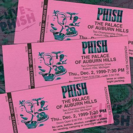 Phish: new archival release Auburn Hills '99