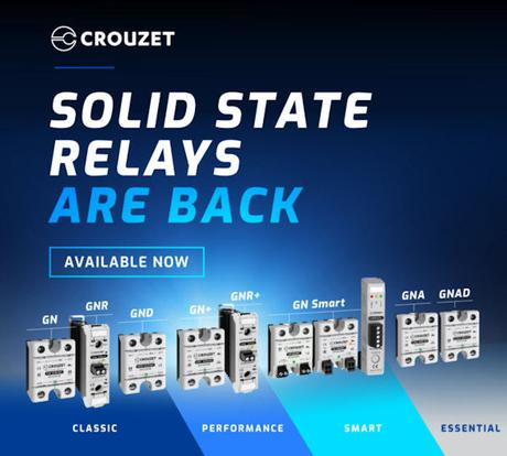 Crouzet Solid State Relays are Back & Stronger