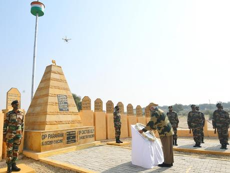 PM Shri Modiji celebrates Deepavali with soldiers at Longewala - some history !