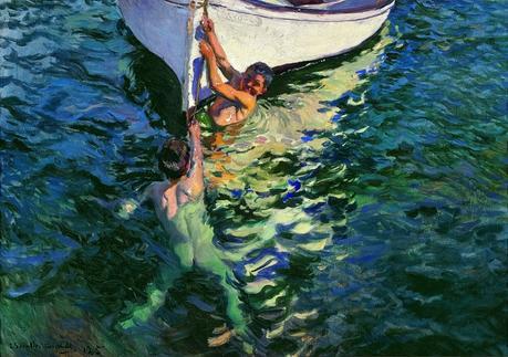 el bote blanco sorolla
