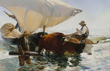 1112px Joaquín Sorolla y Bastida La vuelta de la pesca